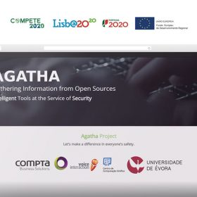 AGATHA: Intelligent Analysis System for surveillance / crime control on open information sources | 2016-2019